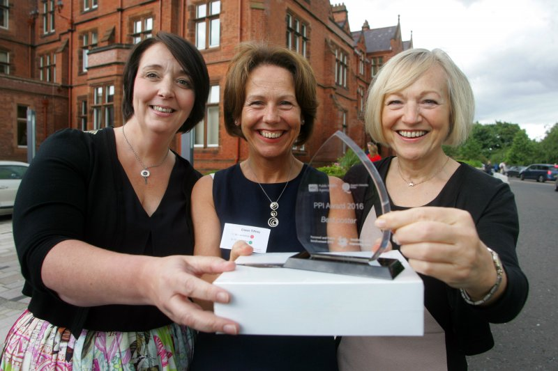 First awards for Personal and Public Involvement