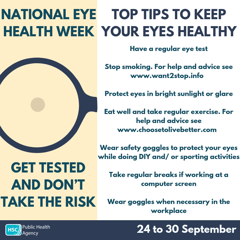Eyecare tips