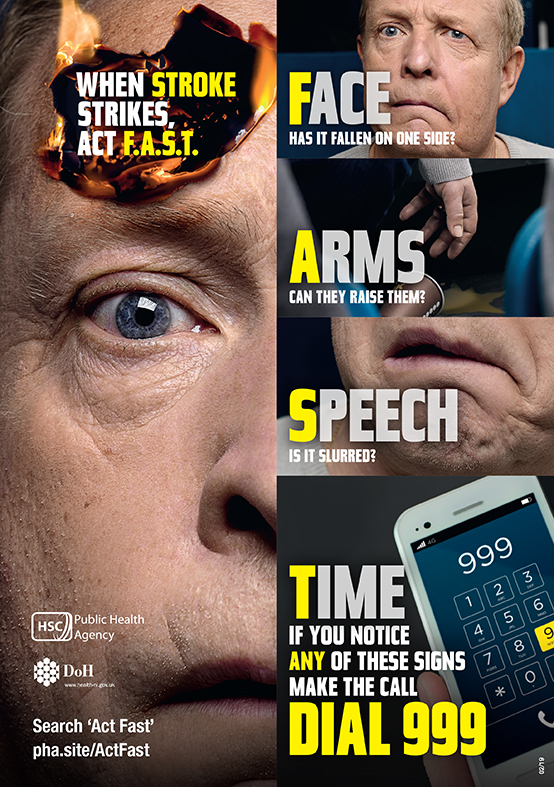 ActFAST campaign poster