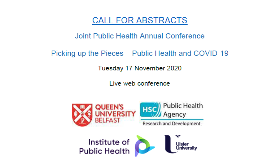 Joint Public Health conference flyer