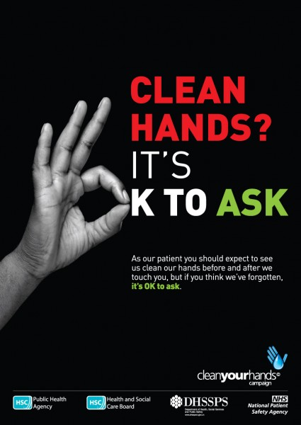 Clean hands? It's OK to ask