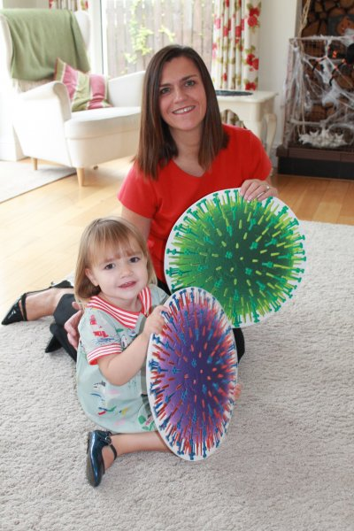 Bangor toddler Anna has the best protection against the flu