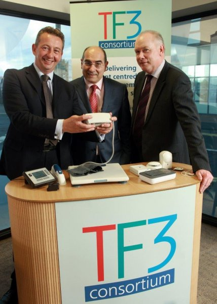 Basque Health Minister visits Telemonitoring NI centre for learning visit