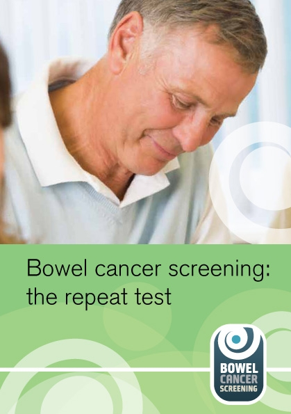 Bowel cancer screening: the repeat test (English and 10 translations)