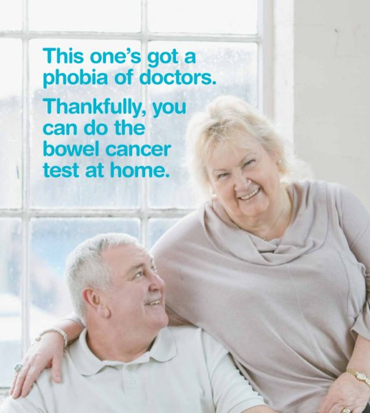 Bowel cancer screening programme success