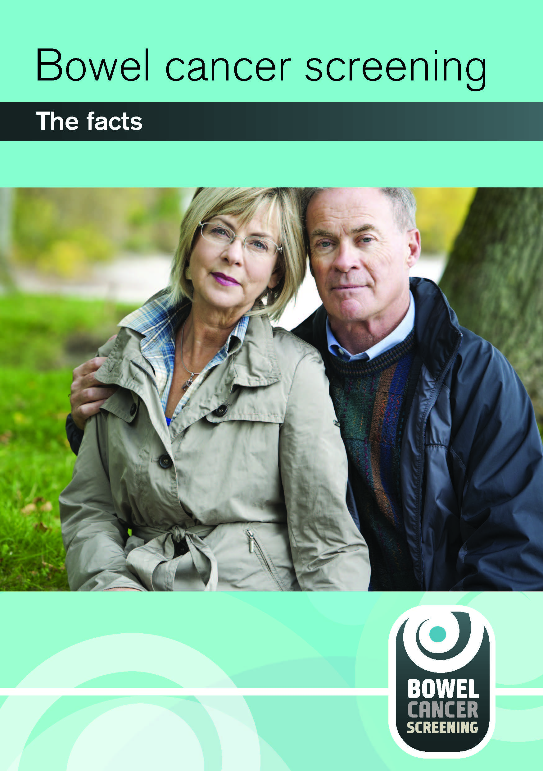 cover of leaflet Bowel cancer screening: the facts