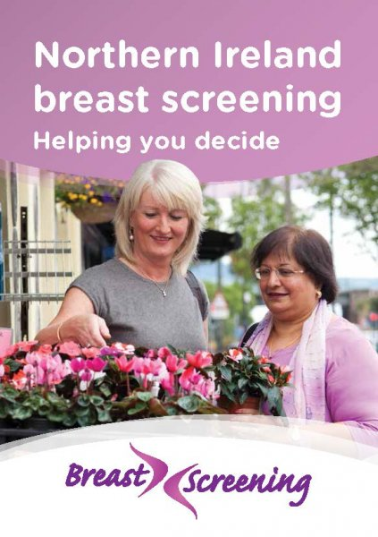Northern Ireland breast screening: Helping you decide (English and 12 translations)