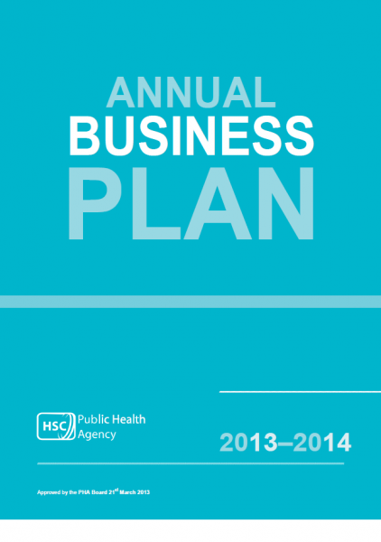 Public Health Agency Business plan 2013-2014