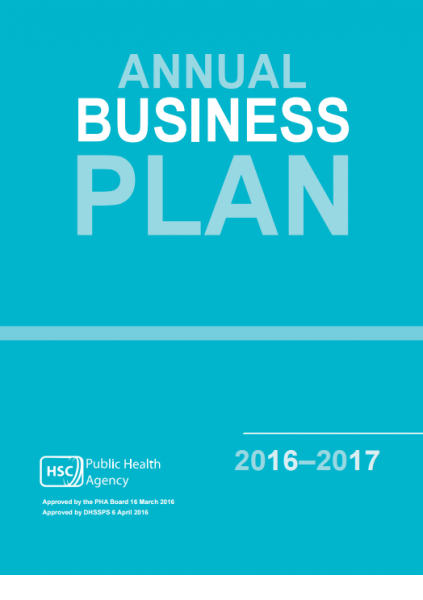 Public Health Agency Annual Business Plan 2016-2017