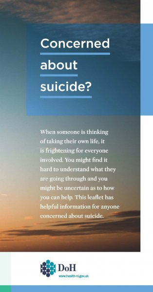 Concerned about suicide?