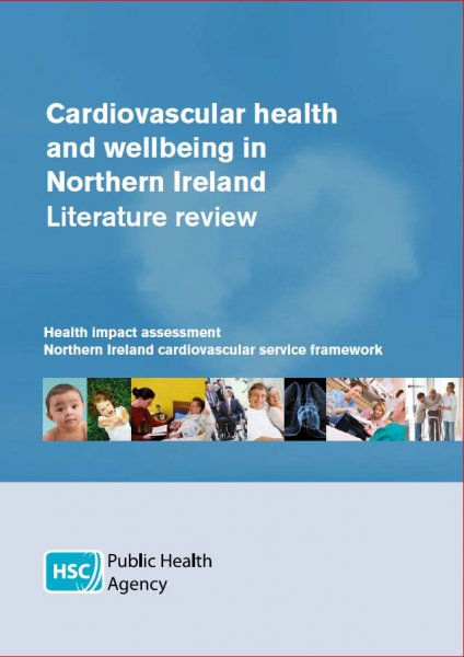 Cardiovascular health and wellbeing in Northern Ireland - Literature review