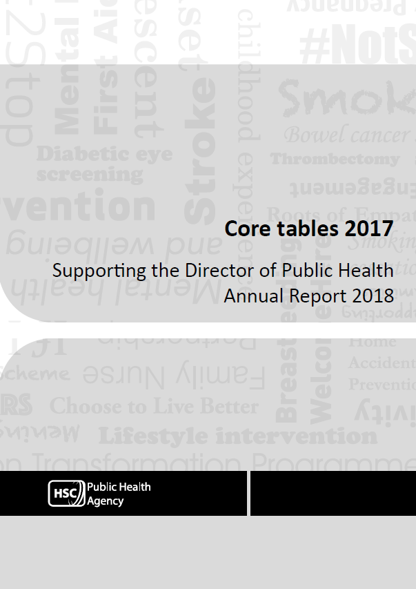 Core tables report cover