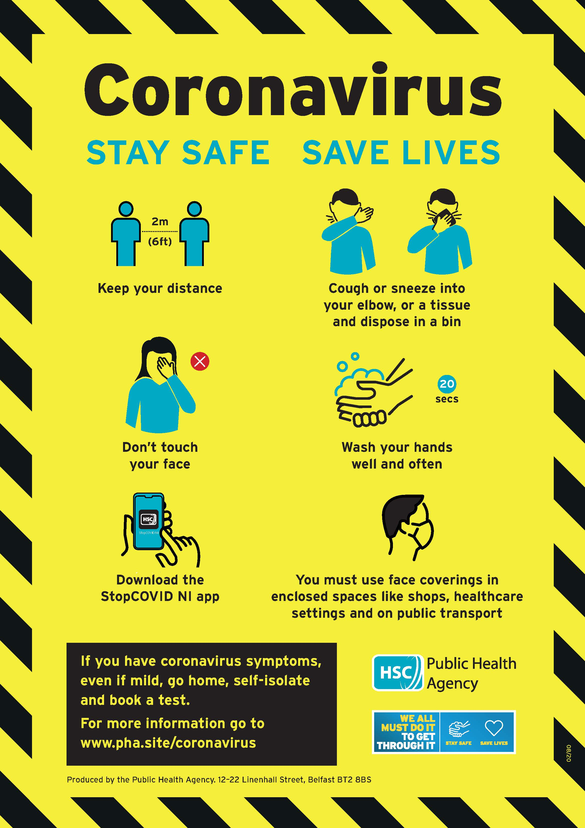 Stay safe save lives