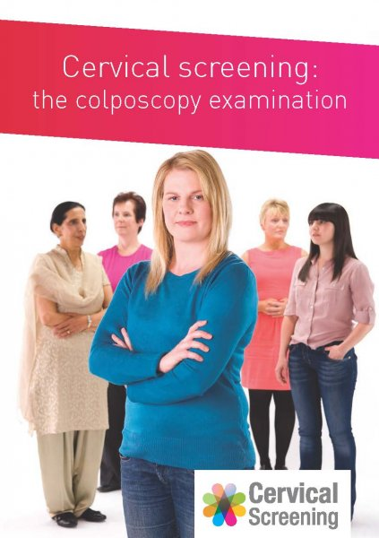 Cervical screening: the colposcopy examination (English and 11 translations)