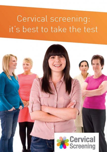 Cervical cancer: it's best to take the test (English and 11 translations)