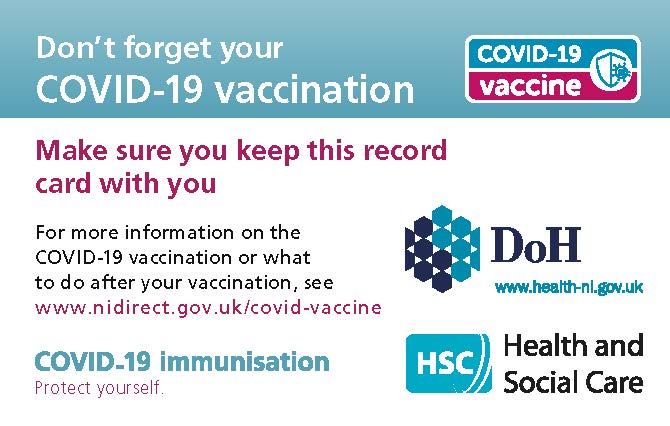 vaccine record card image