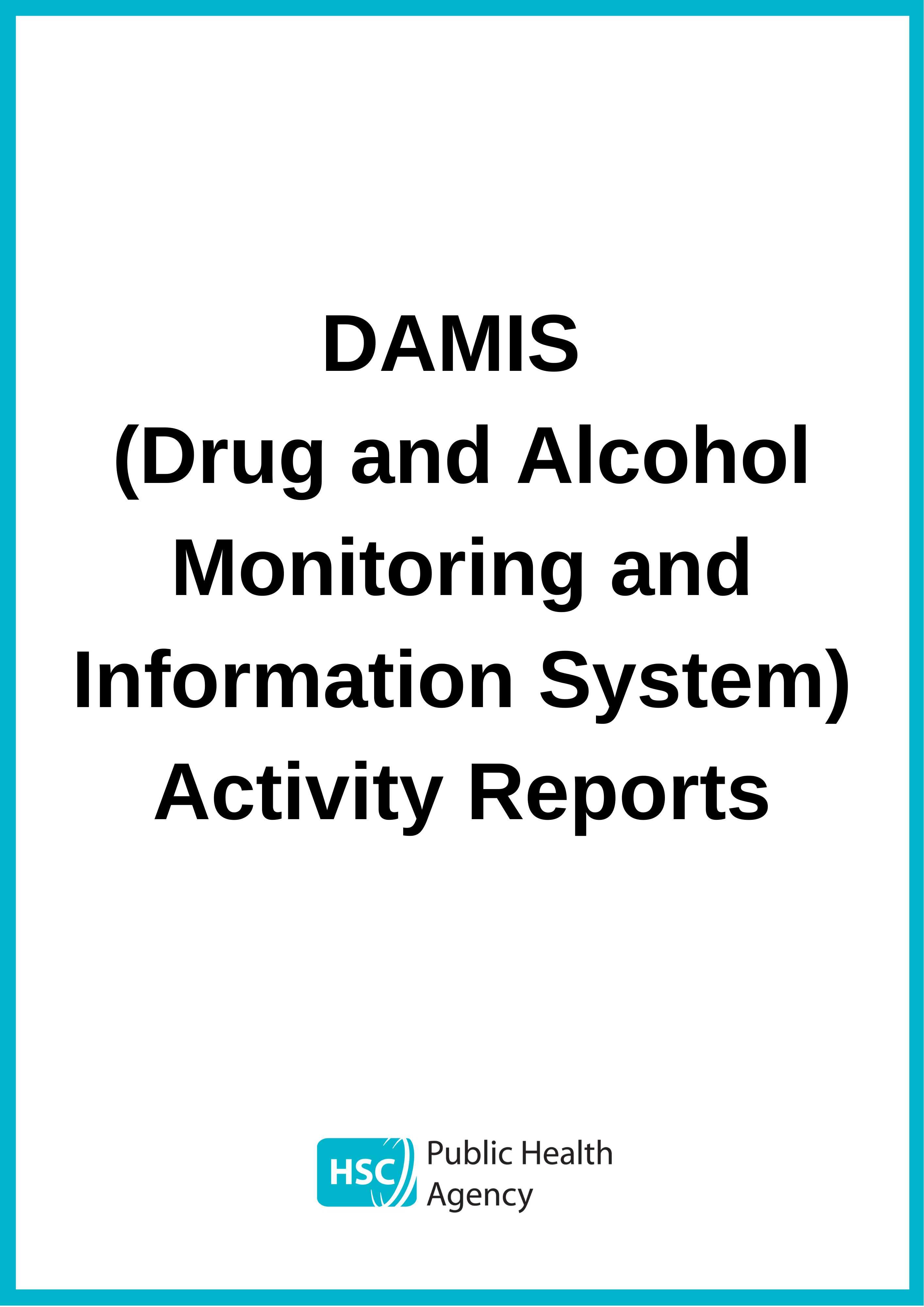 DAMIS report cover