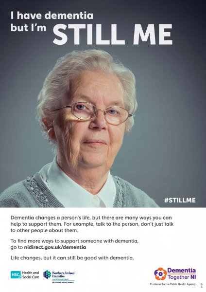 Dementia campaign posters
