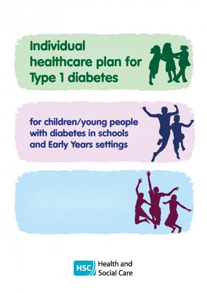 cover of Individual healthcare plan for Type 1 diabetes