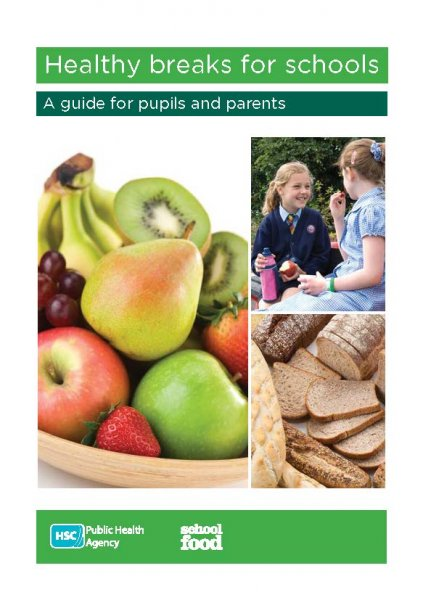 Healthy breaks for schools leaflet (English and Irish translation)