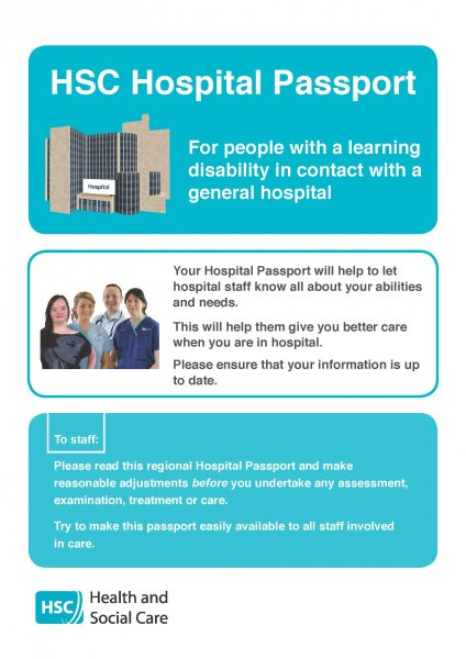 HSC Hospital Passport and Guidance notes
