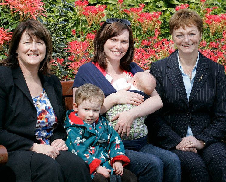 Working Together to promote breastfeeding in Northern Ireland