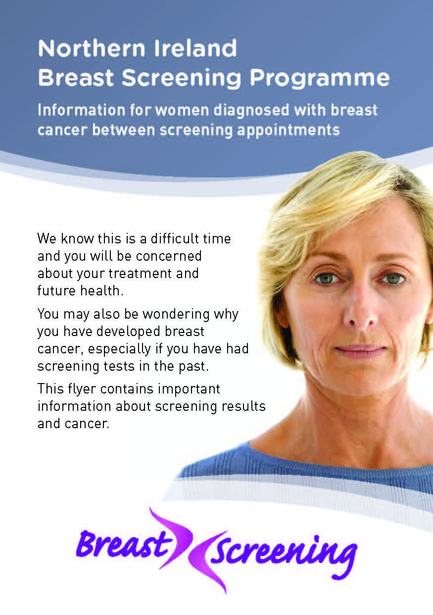 Woman diagnosed with breast cancer