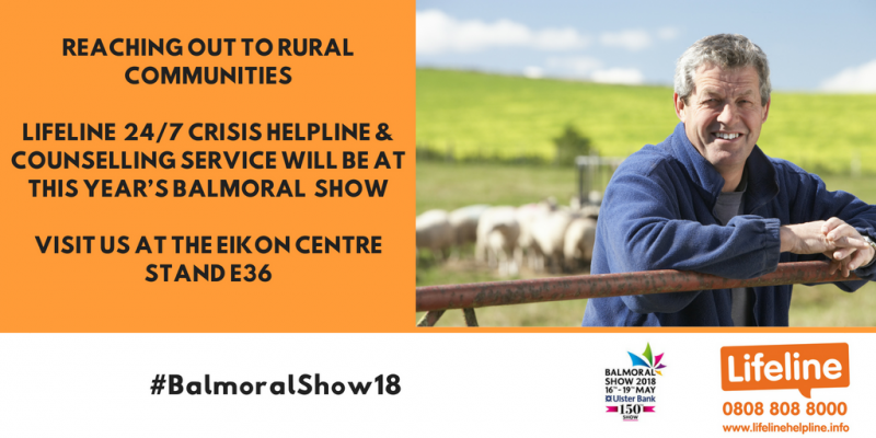 Focus on rural mental health support at Balmoral Show