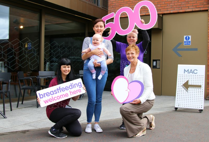 500 venues show support for breastfeeding mums