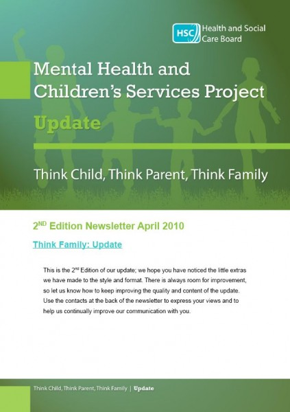 Think child, think parent, think family