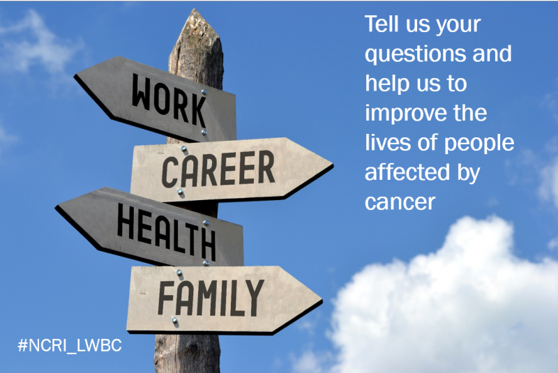 Living with and beyond cancer - do you have any questions?