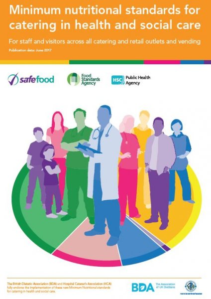 Minimum nutritional standards for catering in health and social care for staff and visitors