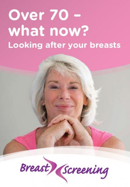 Over 70 – what now? Looking after your breasts