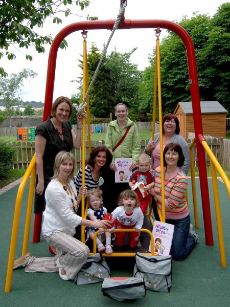 Happy Hands training promotes toddler active lifestyles