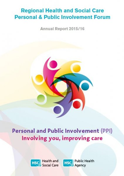 Regional Health and Social Care Personal and Public Involvement Forum: Annual Update Report 2015/16
