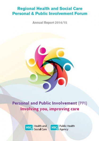 Regional Health and Social Care Personal and Public Involvement Forum: Annual Update Report 2014/15
