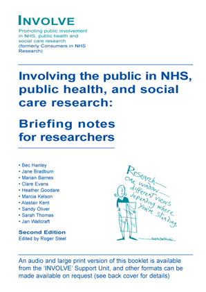 Personal and Public Involvement Briefing Note