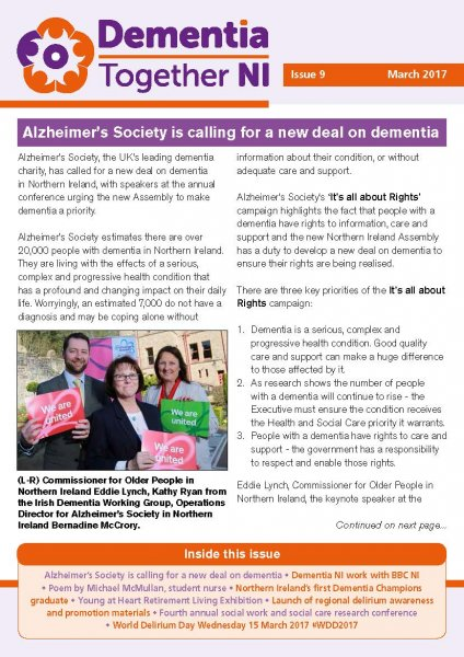 Dementia Together NI - newsletter