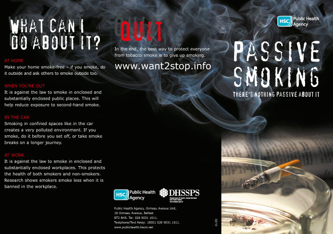 Passive smoking: there's nothing passive about it