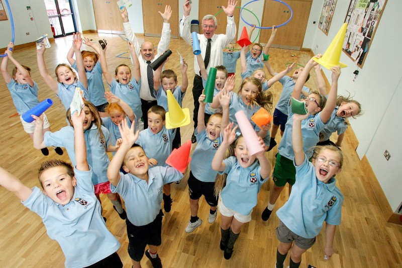 Children focus of new physical activity campaign