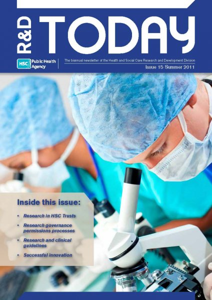 R&D Today Issue 15 - Summer 2011
