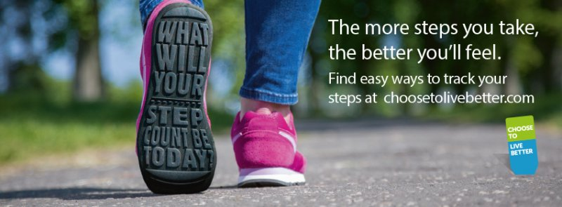 How many steps will you take this Walking Month?