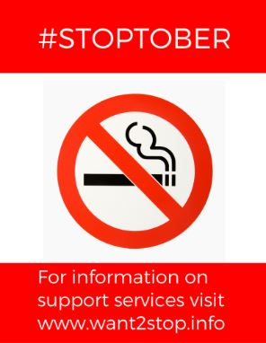 Stop smoking in Stoptober!