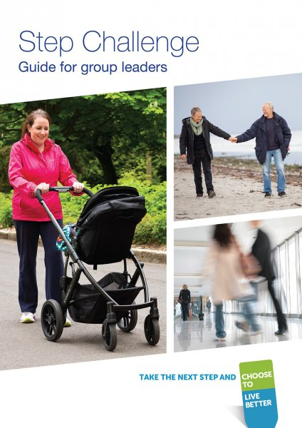 Step Challenge toolkit (leaders' guide, poster, certificate etc)