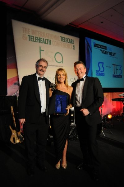 Double Celebration as TF3 and the Telemonitoring NI Service Scoop Two Major Industry Awards