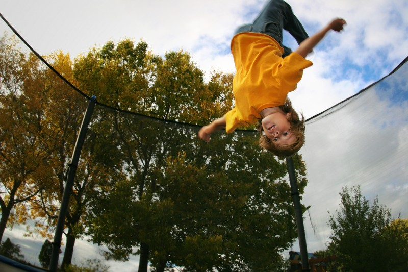 Trampoline users urged to be cautious
