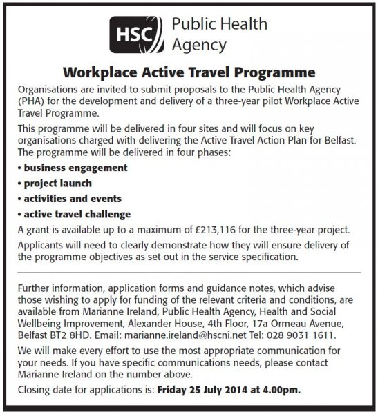 Workplace Active Travel Programme
