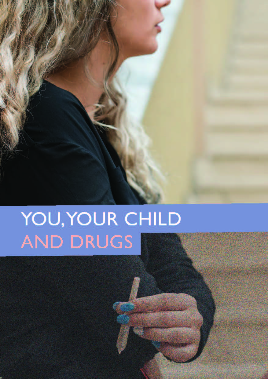 Cover of leaflet You, your child and drugs