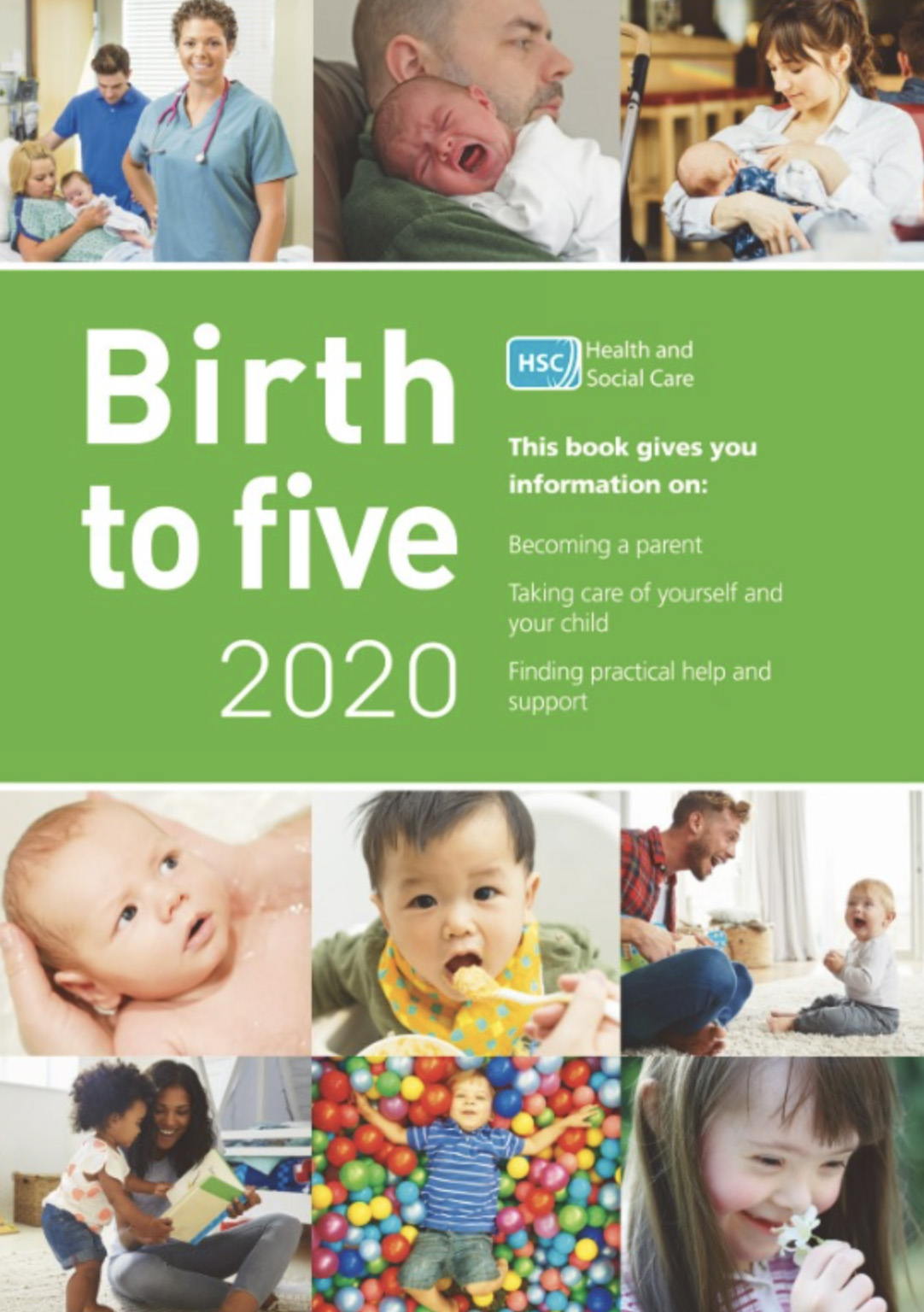 Cover of birth to five 2020