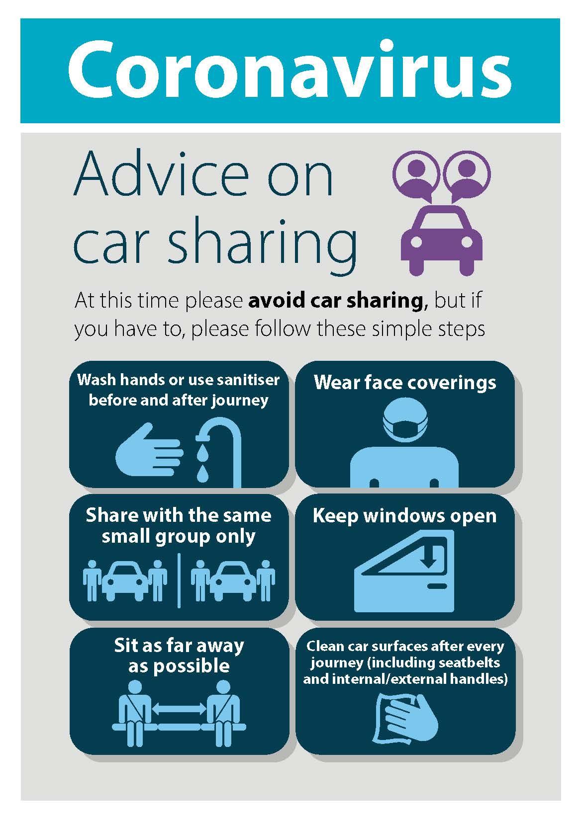 Car sharing graphic